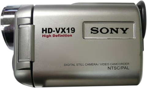 HD-VX19 SONY DOWNLOAD DRIVERS